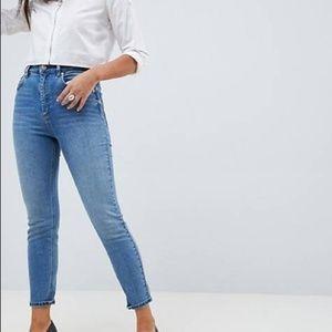 ASOS Denim Light Blue Skinny Jeans